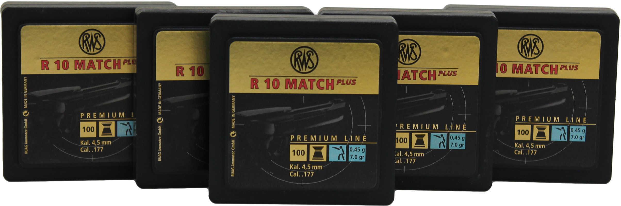 Umarex USA RWS R10 Match+ Lite Per 500 .177 Md: 231-5010