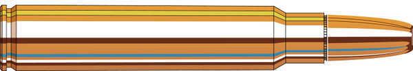 375 Ruger® Ammunition By Hornady 300 Grain DGS FMJ/RN Per 20 Md: 8232