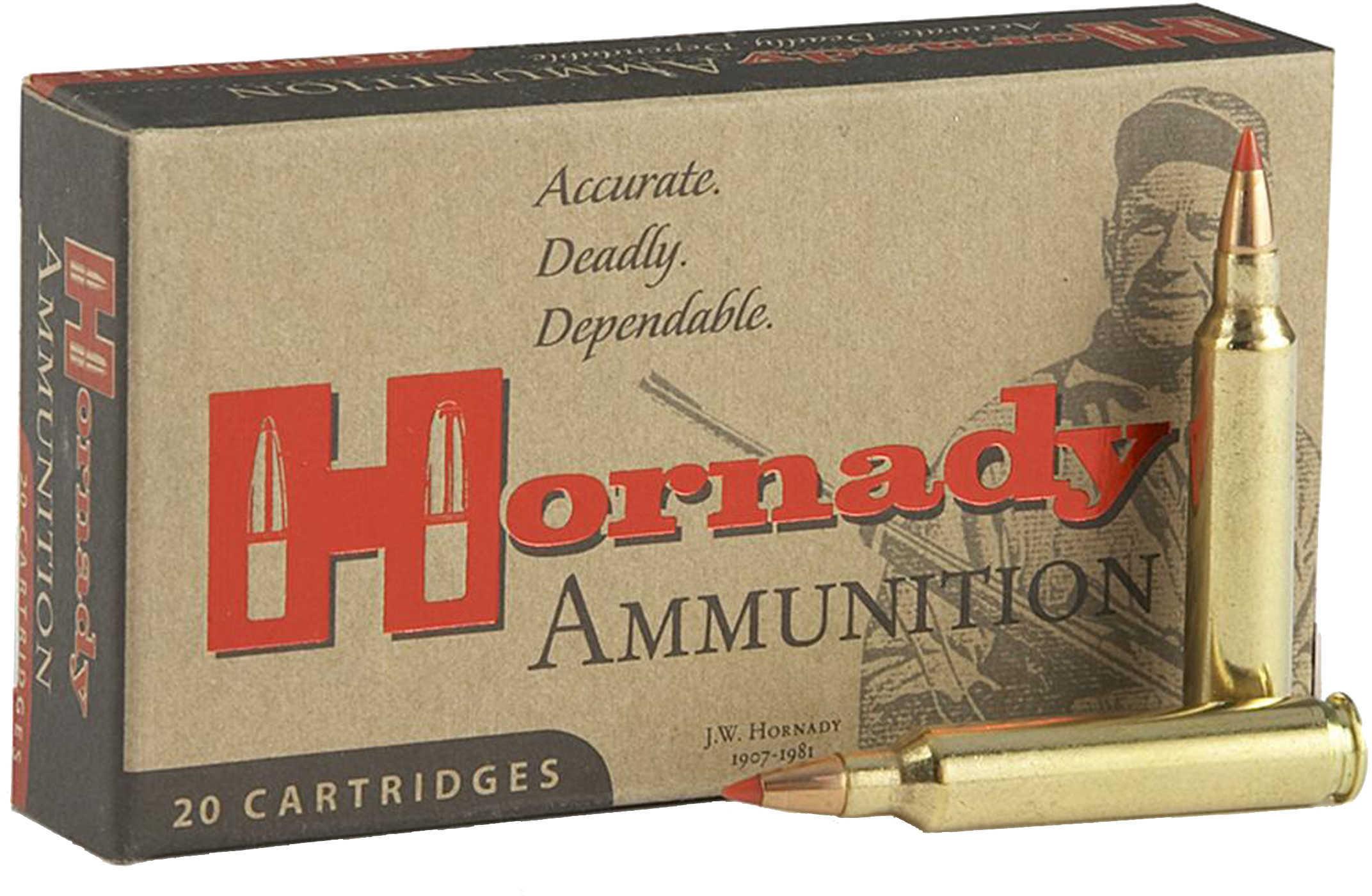 338 Lapua Ammunition By Hornady 250 Grain BTHP Per 20 Md: 8230