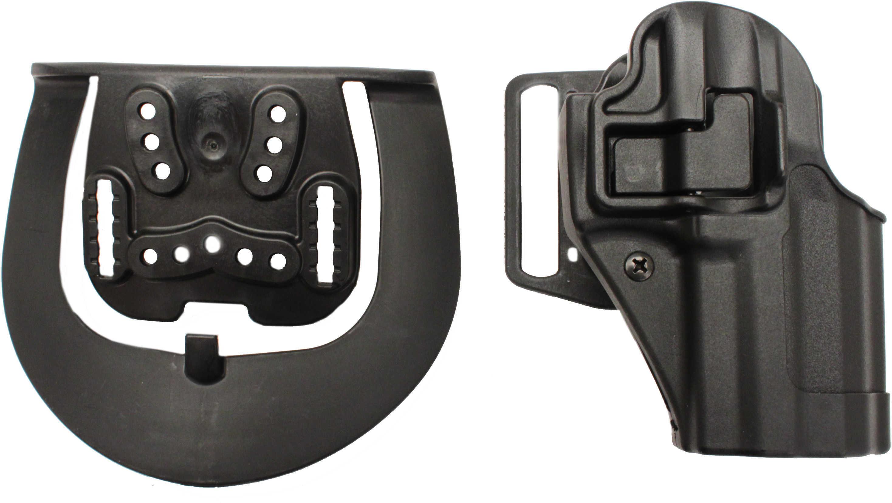 Blackhawk Carbon Fiber Serpa Belt & Paddle Holster H&K P30, Right Hand Md: 410517Bk-R