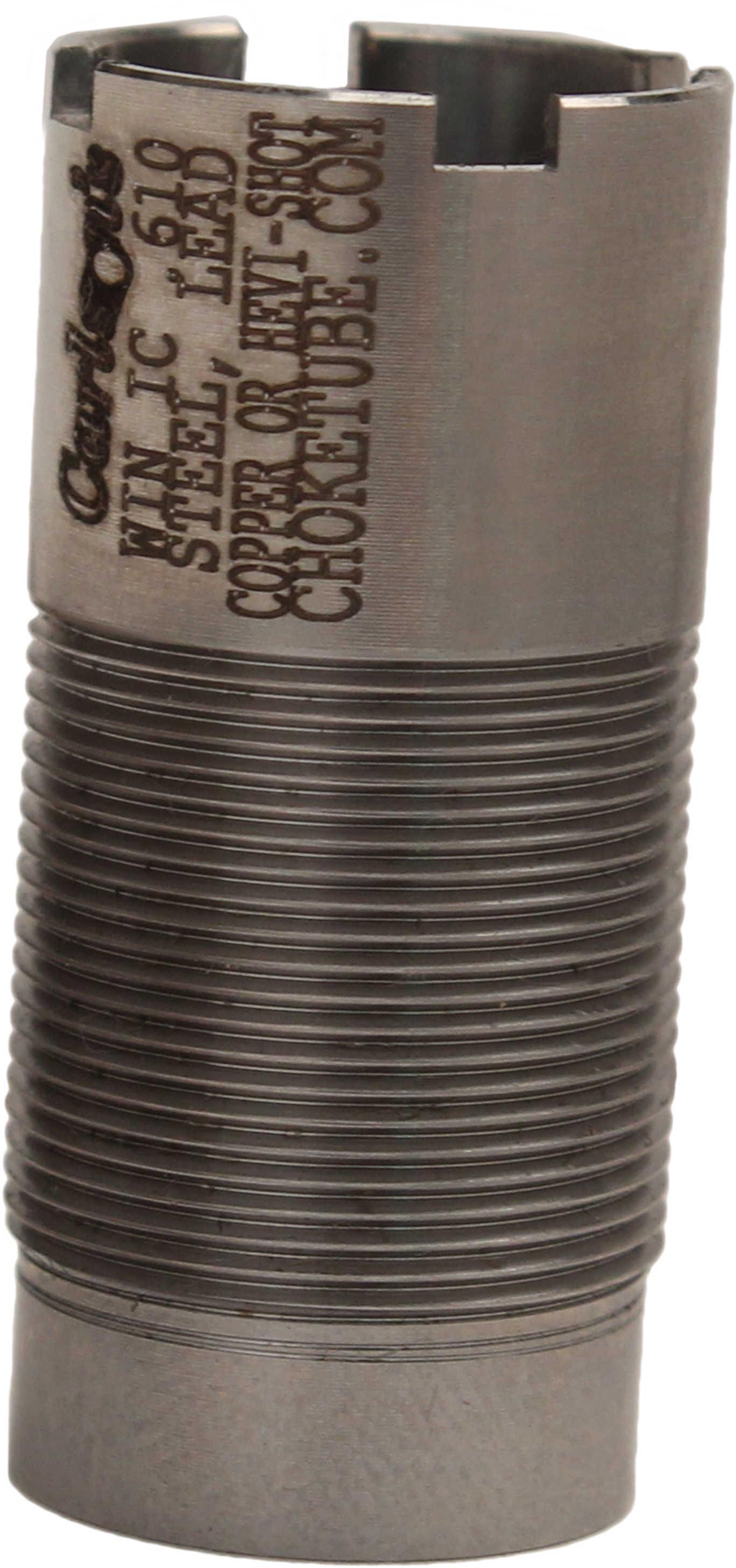 Carlson's Win/Moss/Brng/Wby Flush Mount Choke Tube 20 Gauge, Improved Cylinder .610 Md: 10102