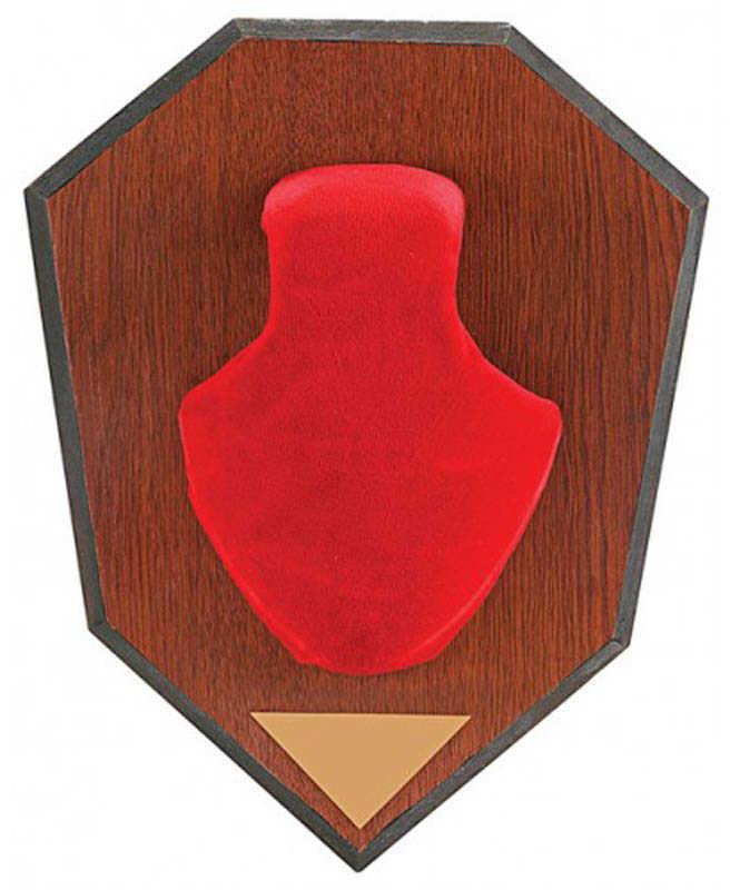 Allen Antler Mounting Kit Antler Mounting Kit W/ Skull Cover, Red Md: 561