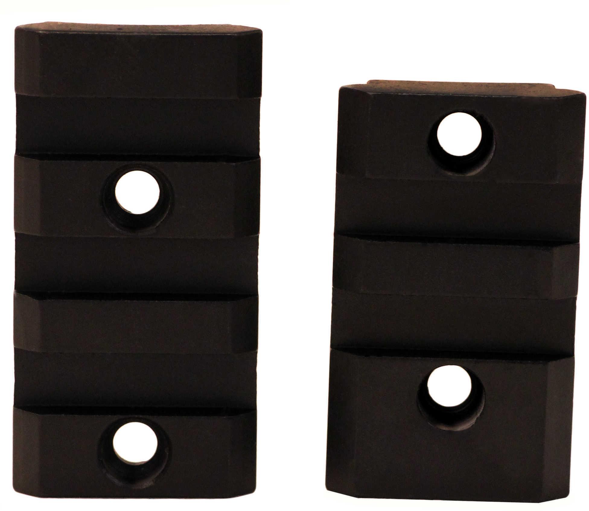 Burris XTB Weaver-Style Solid Steel Bases Savage Flat, 2 Piece, Matte Black Md: 410620