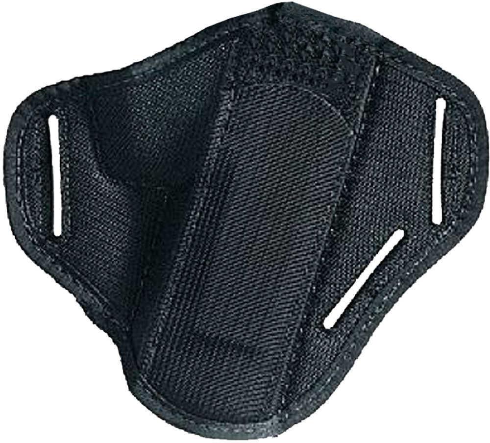 Uncle Mikes Ambidextrous Super Belt Slide Holster Cordura Black Size 0 Md: 86000