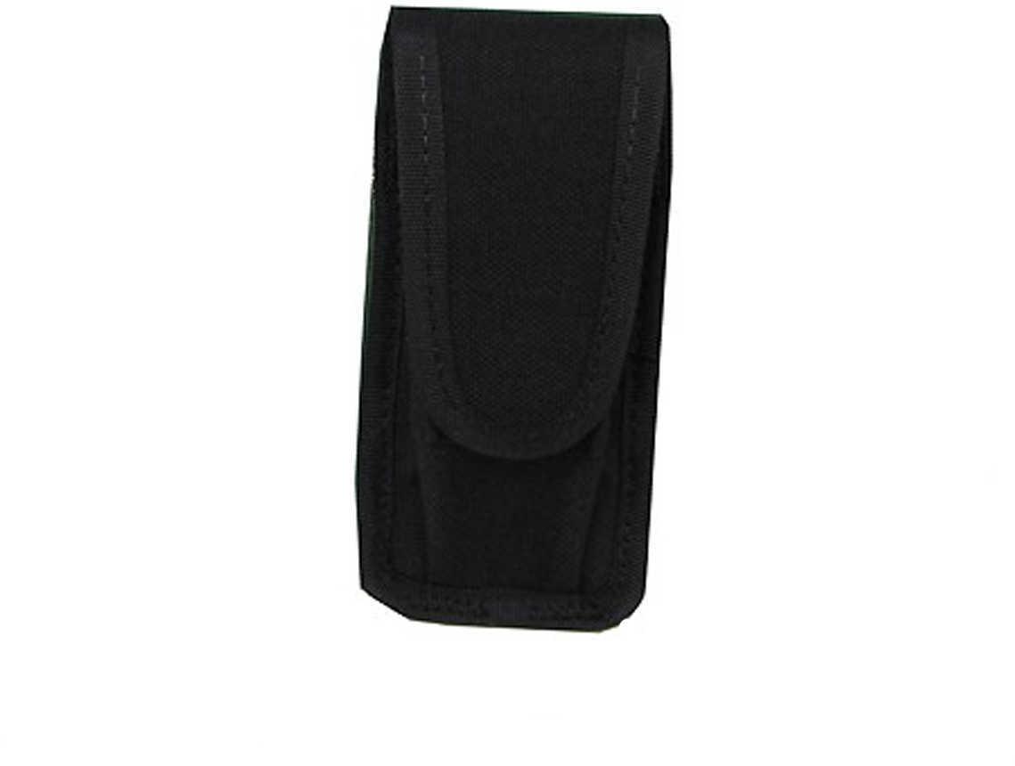 Uncle Mikes Cordura Universal Single Pistol Mag/Folding Knife Case Black Md: 88321