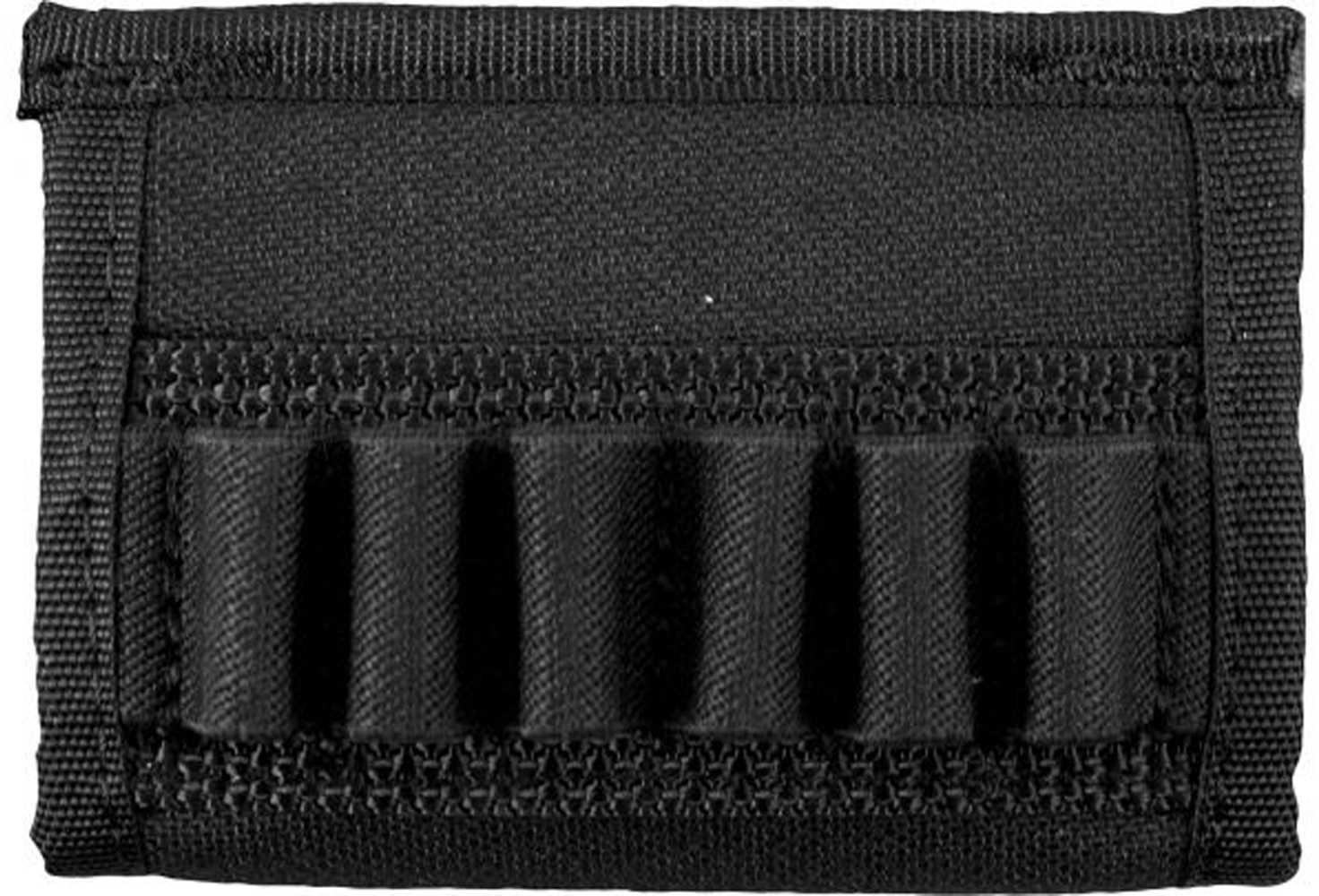 Uncle Mikes Cordura Cartridge Carrier, Black Handgun Cartridge Slide Md: 88401