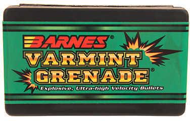 Barnes Varmint Grenade, 20 Caliber 26 Grain Varmint Grenade Per 100 Md: 20426 Bullets