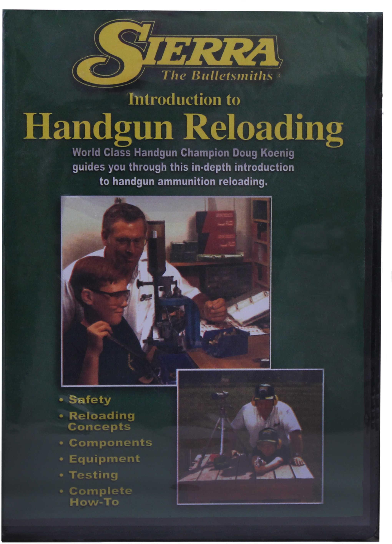 Sierra Reloading DVD Beginning Handgun Md: 0094DVD