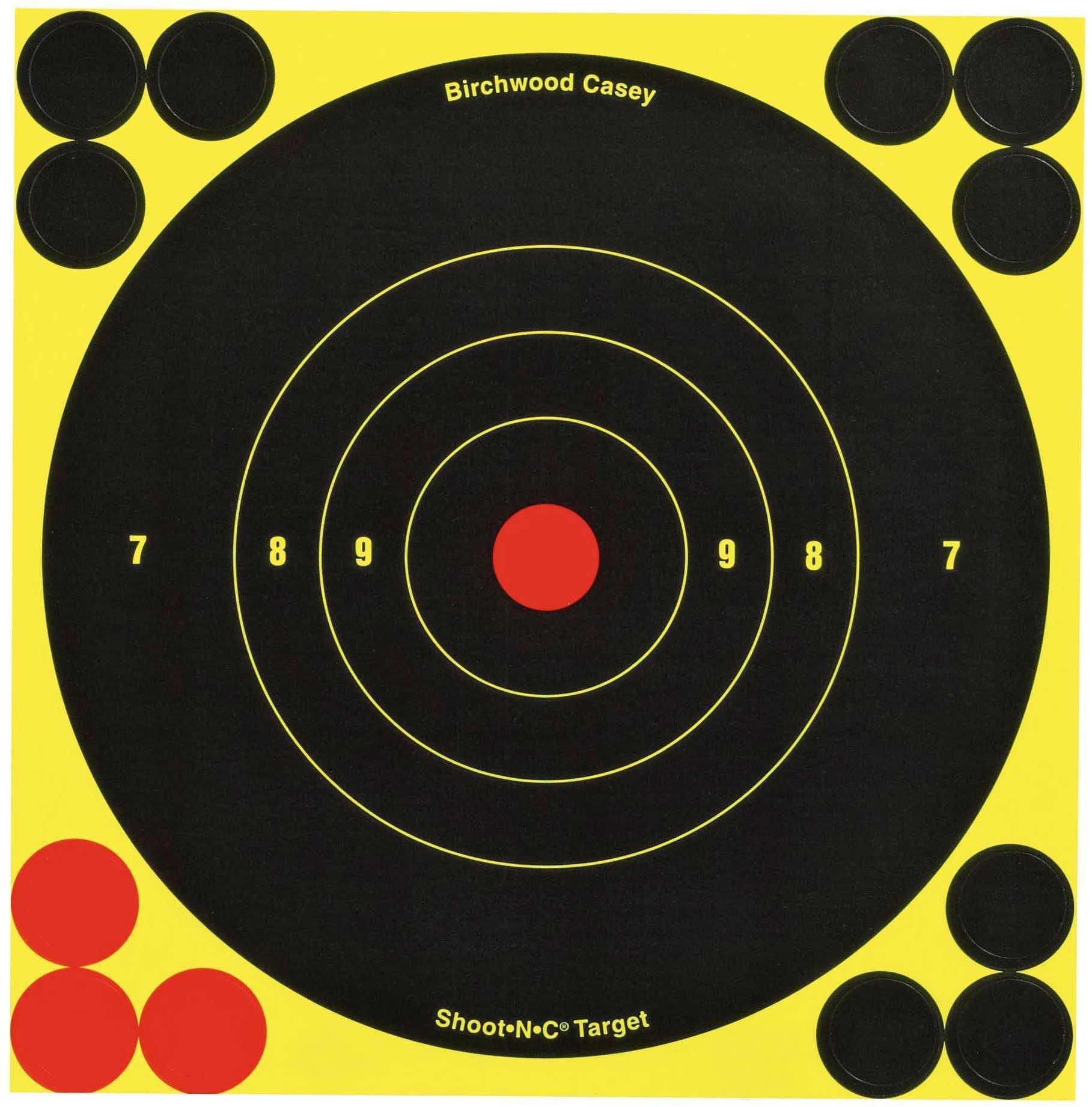 "Birchwood Casey Shoot-N-C Targets: Bull's-Eye 5.5"" Round Target Per 12 Md: 34512"