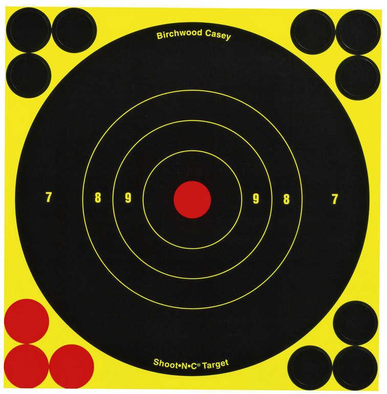 "Birchwood Casey Shoot-N-C Targets: Bull's-Eye 5.5"" Round Target Per 60 Md: 34550"