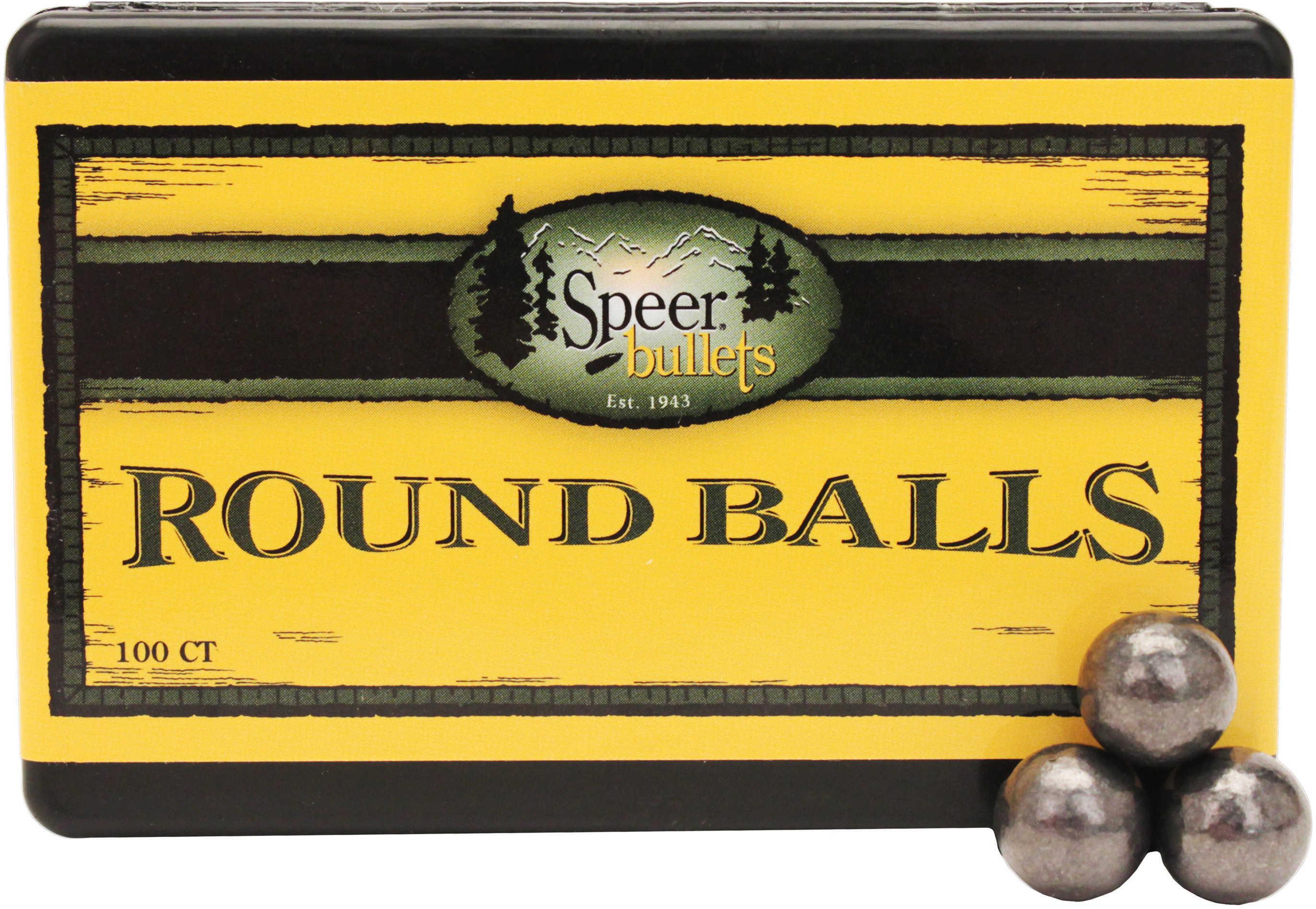 Speer Lead Round Balls .535 230 Grains Per 100 Md: 5150