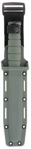 Ka-Bar US Military Fighting/Utility Knife Foliage Green, Straight Edge, Hard Sheath Md: 5011