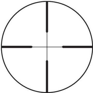 Leupold FX-3 Riflescopes 6X42mm Matte Wide Duplex Md: 66815