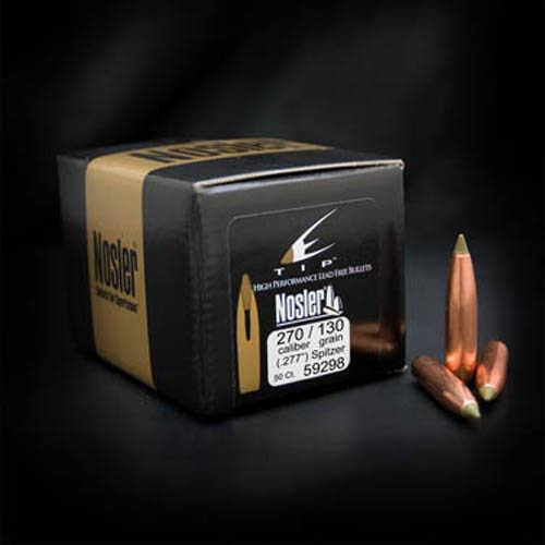 Nosler E-Tip Bullets 270 Cal. 130 Gr. Per 50 Md: 59298