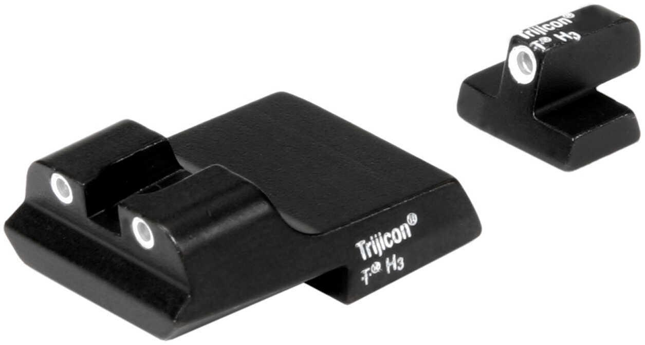 Trijicon S&W 1911 3 Dot Front/Rear NS Set Md: SA36