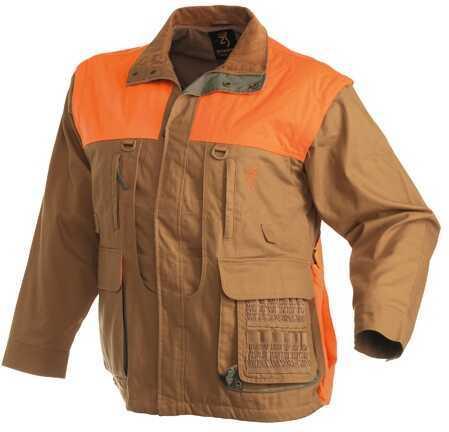 BrowningBrowning Upland Canvas Jacket, Zip Sleeve, Field Tan Small Md: 3041193201