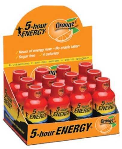 5-Hour Energy Drink, Original, Per 12 Orange Md: 318120