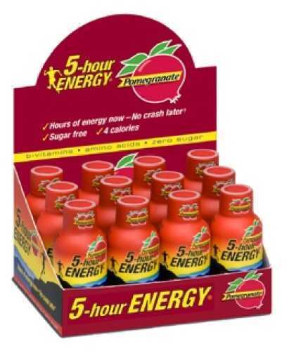 5-Hour Energy5-Hour Energy Drink, Original, Per 12 Pomegranate Md: 818125