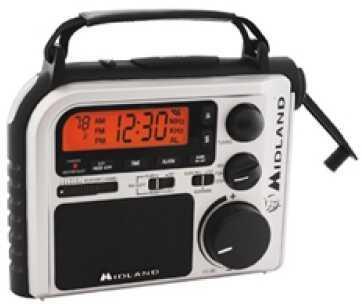 Midland RadiosEmergency Multi-Power/Crank Am/Fm/WX Md: ER102