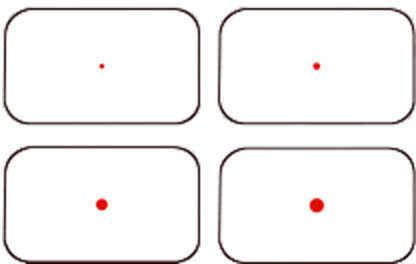 Aimshot Reflex Sight 4 Dot Md: Hg-D2
