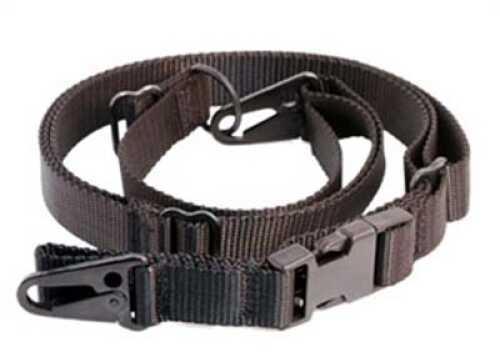 Nylon Adjustable 2 Point Sling With HK Hooks Sig 516 Black Md: ITAC-Sling