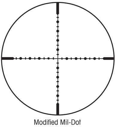 Sightron SIII Modified Mil-Dot Scope 10X42mm Md: SIII10X42MMd