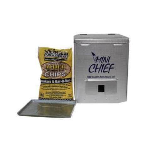 Mini Chief Smoker 15Lb Capacity 250W Silver Md: 9801-000-0000