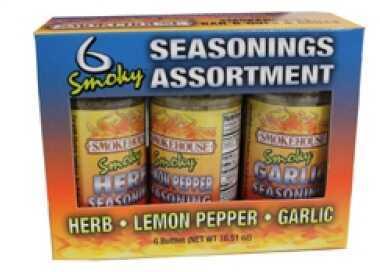 Smoky Seasoning Gift Set, 6 Pack Md: 9748-600-0000