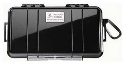 Pelican Micro Case 1060 Black Lid, Black Md: 1060-025-110