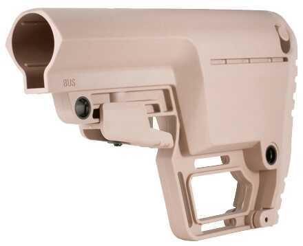Mission First Tactical AR-15 Battlelink Utility Stock Mil-Spec Flat Dark Earth Md: BUSMilFDE