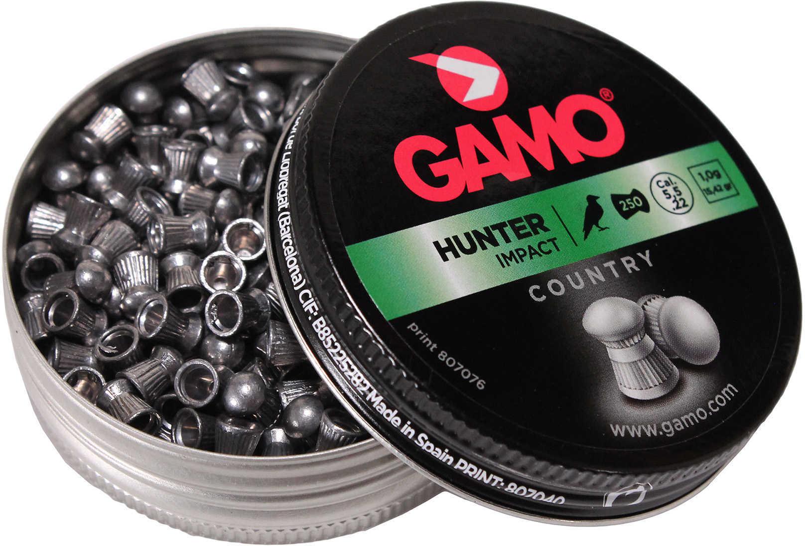 Gamo Hunter Pellets Round Nose .22 Caliber Md: 632052554
