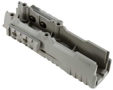 Tekko Polymer AK47 Lower Integrated Rail System Grey Md: TP47LIRSGY