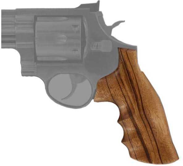 Hogue Wood Grip - Goncalo Alves Taurus Medium/Large Frame Square Butt Md: 66200