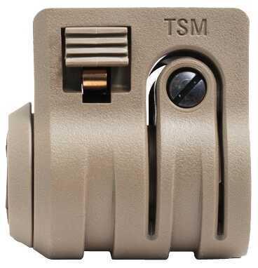 "Torch Light/Laser Mount, Standard To 1""/.825""/.75"" QD Scorched Dark Earth Md: TSMSDE"