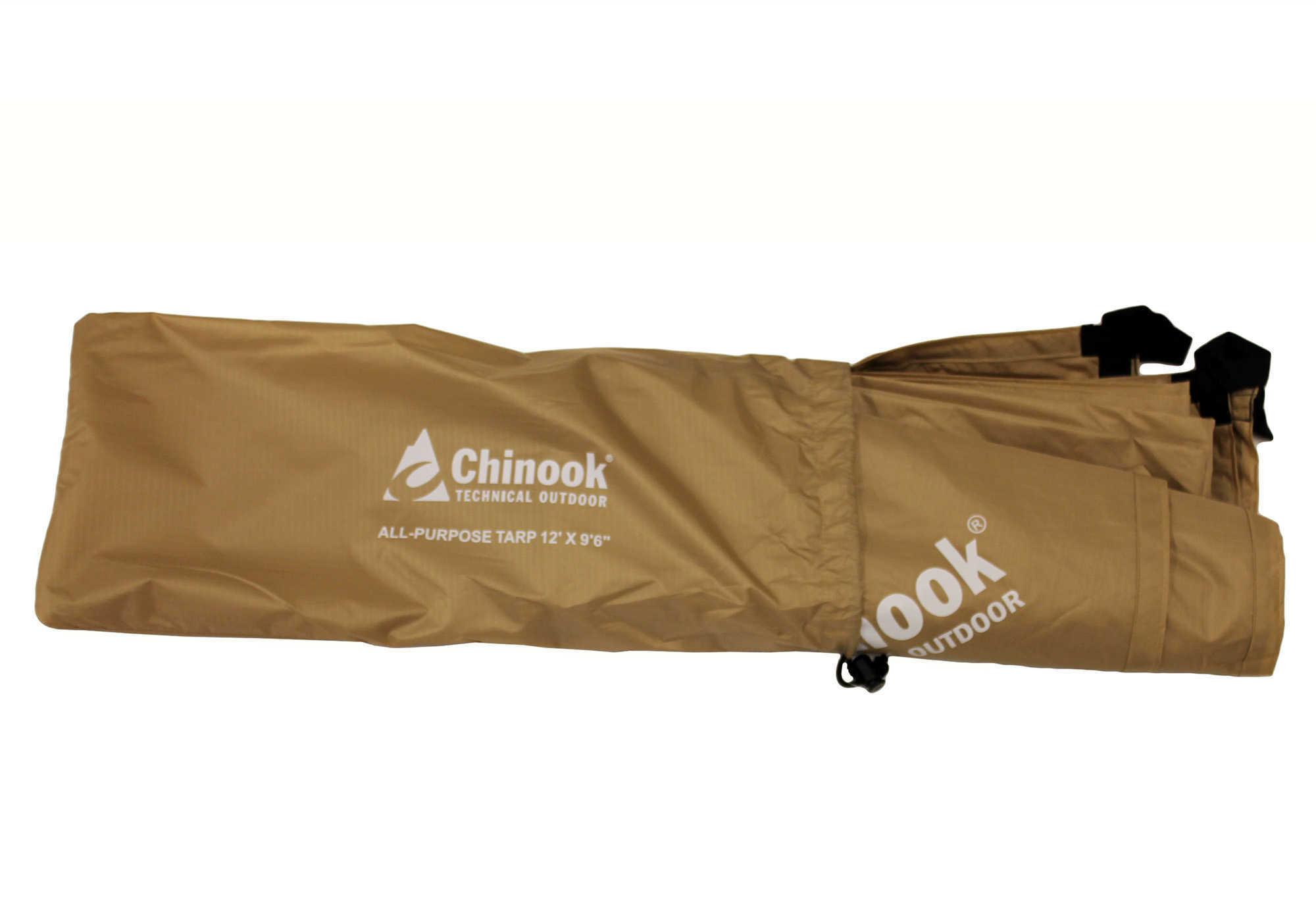 Chinook Tarp 12' X 9.6' - Sand Md: 11016
