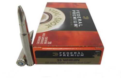 Federal Cartridge 35 Whelen 225 Grain Trophy Bond/20 Md: P35Wt1 Ammunition