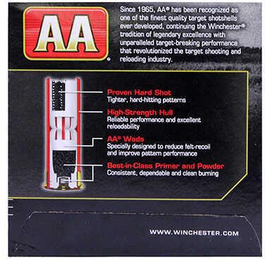 "AA Target Load Winchester 12 Gauge 2 3/4"" Heavy Load 1-1/8Oz 7.5 Shot Ammunition Md: AAM127"