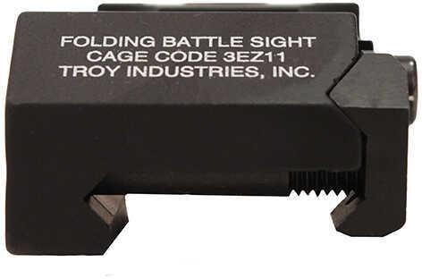 AR-15 Rear Battle Sight Black, Folding Md: SSIG-FBS-R0BT-00