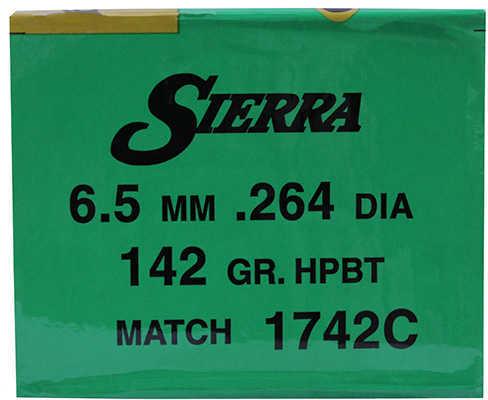 Sierra 22 Caliber .224 High Velocity 52 Grains HPBT Match Per 500 Md: 1410C Bullets