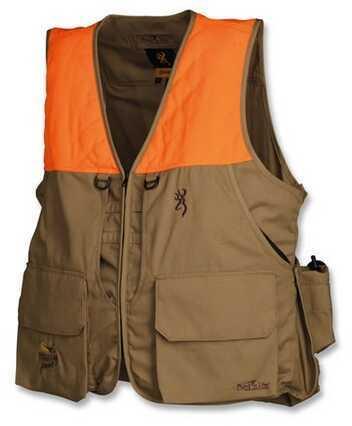 Browning Bird-N-Lite Pheasants Forever Vest, Khaki Medium Md: 3056895802