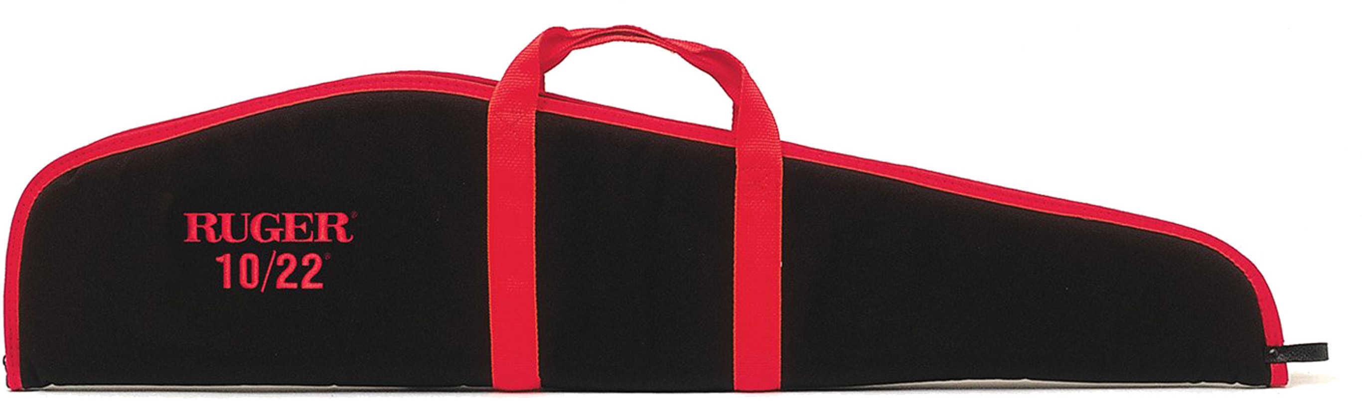 "Allen 27540 Ruger Embroidered 10/22 Rifle Case Black with Red Trim Endura Textured 10"" x 42"" x 1.5"""