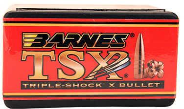 Barnes All Copper Triple-Shock X Bullet 458 Caliber 500 Grain Flat Base 20/Box Md: 45821