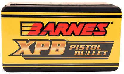 Barnes Solid Copper Heat Treated X-Pistol Bullets 50 Caliber 325 Grain 20/Box Md: 50026