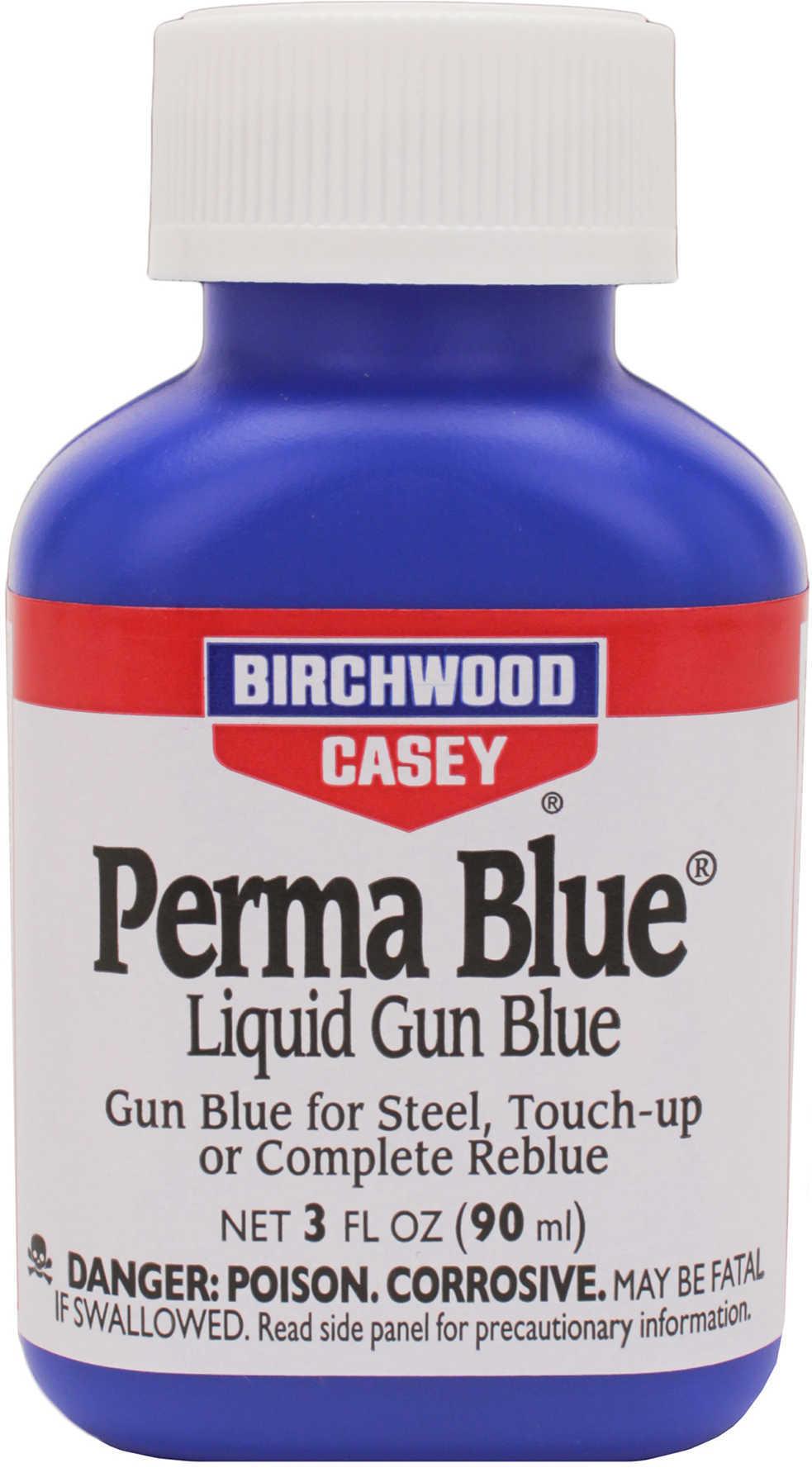 Birchwood Casey 13125 Perma Blue Liquid Gun Blue Perma Blue Liquid Gun Blue 3 oz