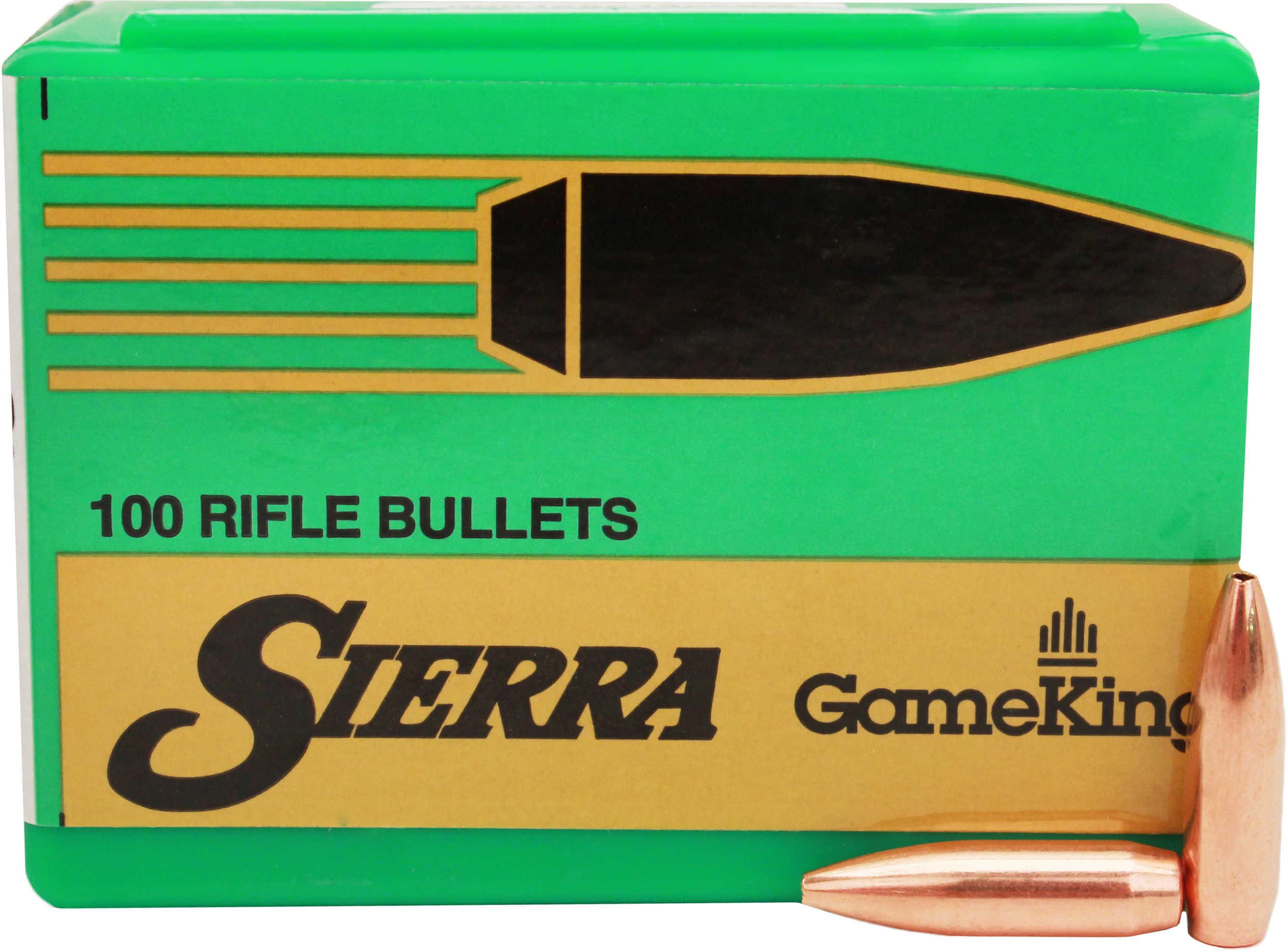 Sierra Gameking 6MM/243 Caliber 85 Grain Boat Tail Hollow Point 100/Box Md: 1530 Bullets