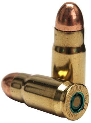 Fiocchi 30 Luger 93 Grain Metal Case Ammunition 50 Rounds Per Box Md: 765A