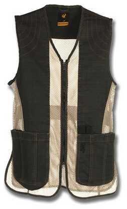 Browning Rhett Mesh Vest Charcoal/Tan Medium Md: 3050297902