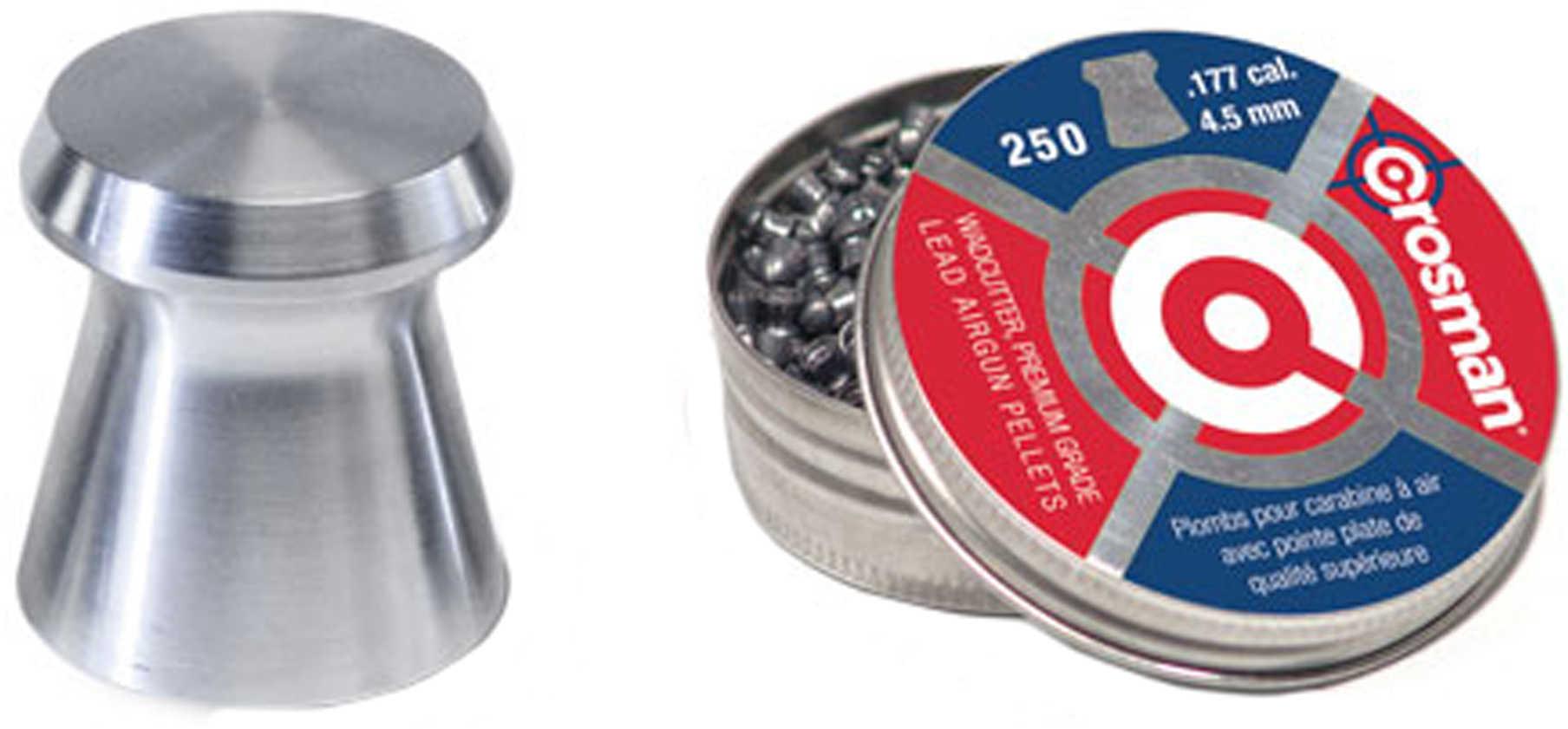 Crosman .177 Caliber Pellet Blister Pack/250 Count Md: 6177