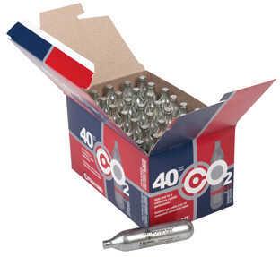 Crosman 23140 Powerlet CO2 Cartridges 12 Grams Stainless 40pk