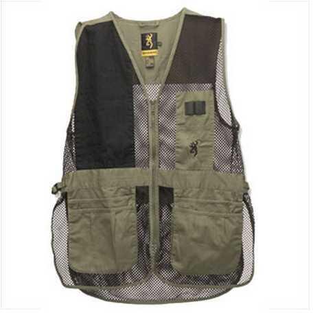 Browning Trapper Creek Vest Sage/Black X-Large Md: 3050265404